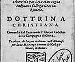 E Mbsuame e Krështerë, 1592  (Riprodhim nga Michiel de Vaan, 2004).