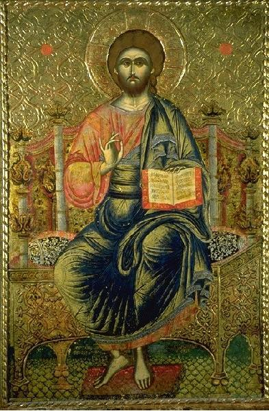 Afresk në Shqipëri, Krishti