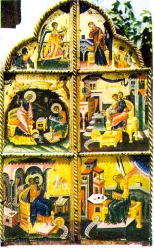 Afresk në Shqipëri, Nga Kisha e Evangjelizmoit, Berat