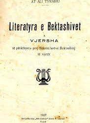 Literatyra e Bektashivet, 1927.