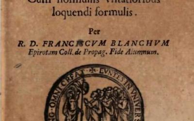 Fjalor latinisht-epirotisht, 1635  (Botim kritik nga Bardhyl Demiraj, 2008)