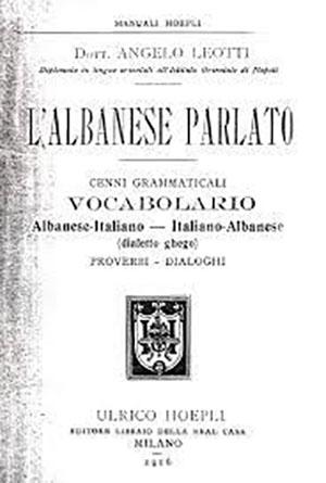 L' Albanese Parlato – dialetto ghego, 1916