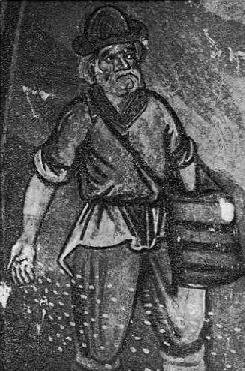 Fig. 3. - Mbjellsi i farës, punë e David Selenicasit, në Shënkoll të Voskopojës.