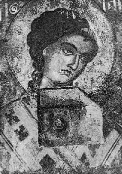 Fig. 4. - Gabrieli, punë e David Selenicasit në Shënkoll të Voskopojës.