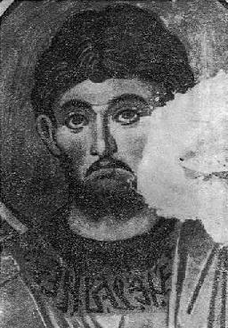 Fig. 5. - Figure shenjti, punë e David Selenicasit në Shënkoll të Voskopojës.