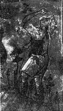 Fig. 9. - Bariu, detal, punë e David Selenicasit, ne Shënkoll të Voskopojës.